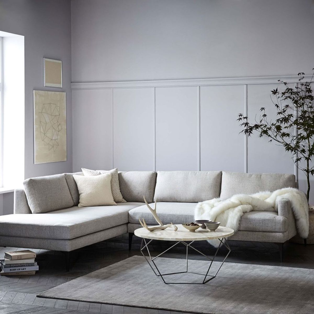 Andes Terminal Chaise Sectional Large West Elm Canada Reclining Sectional With Chaise Sectional Furniture