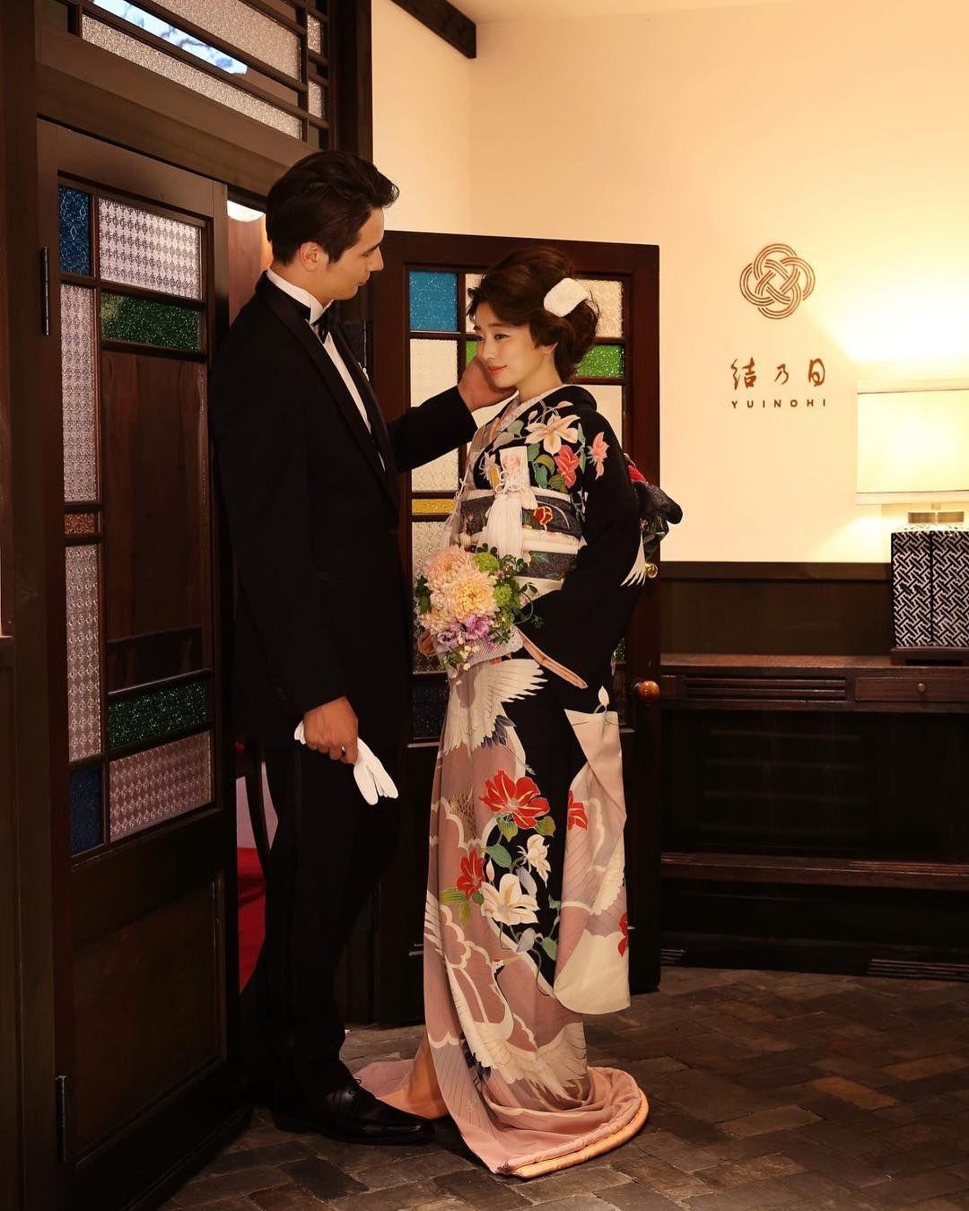 花嫁が和装で新郎がタキシードの衣装合わせってどうなの 有り無し Marry マリー 日本のファッション ウェディング レトロ 花嫁