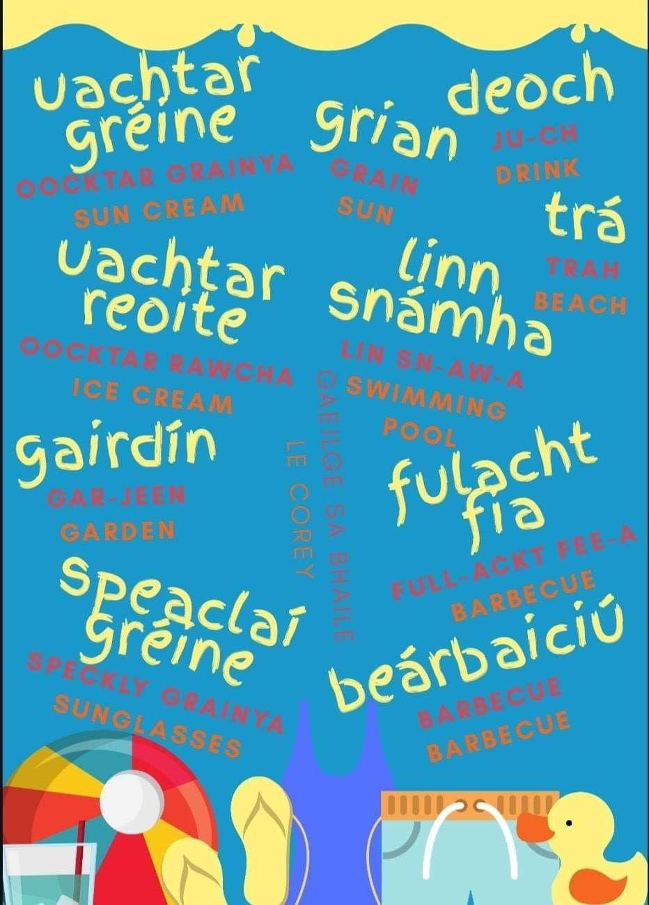 Pin by Troy Espin on Gaeilge in 2020 Irish gaelic, Irish