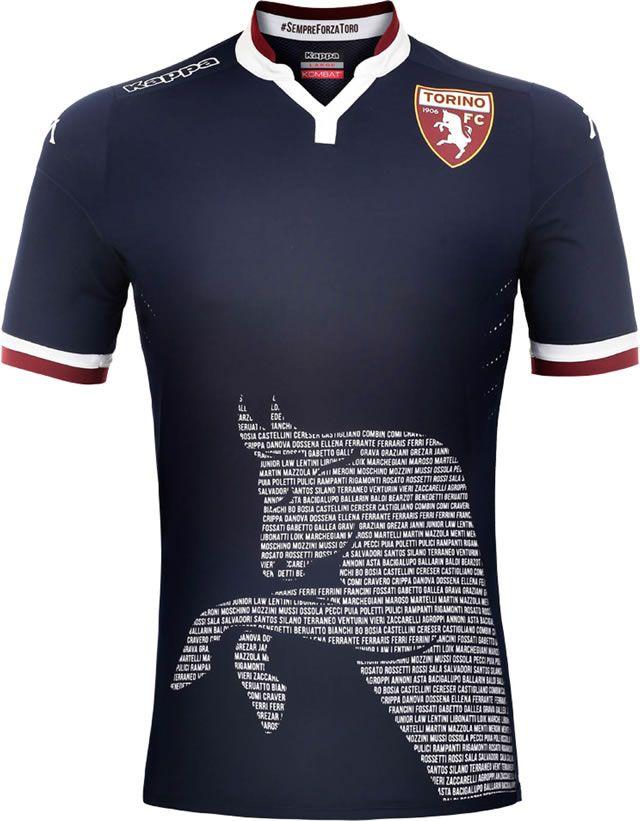 4bb11f1b7 Torino 2015-16 Kappa Third Kits | Sport Shirts | Soccer uniforms ...