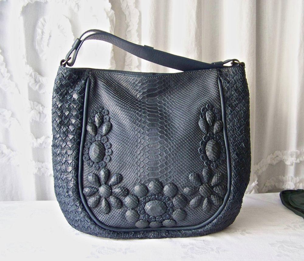 d95946e25d53 Ink Blue Shoulder Bag Lockheart Leather Bag NEW With Tags Dust Cover   Lockheart  ShoulderBag