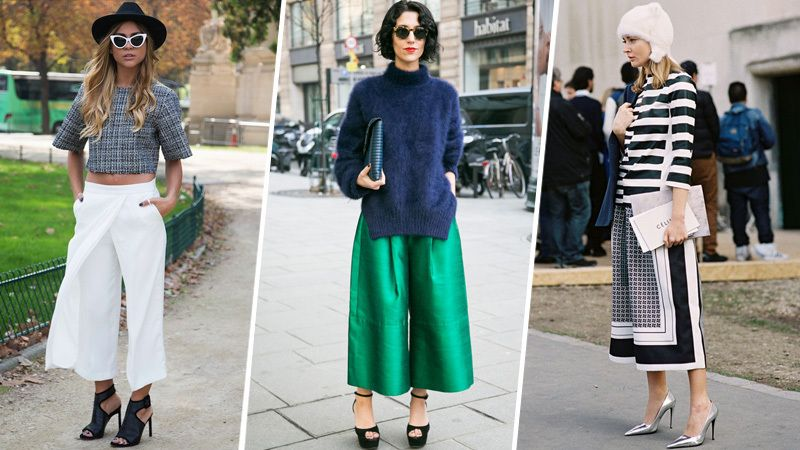 1000  images about GAUCHO PANTS on Pinterest | Gaucho pants ...