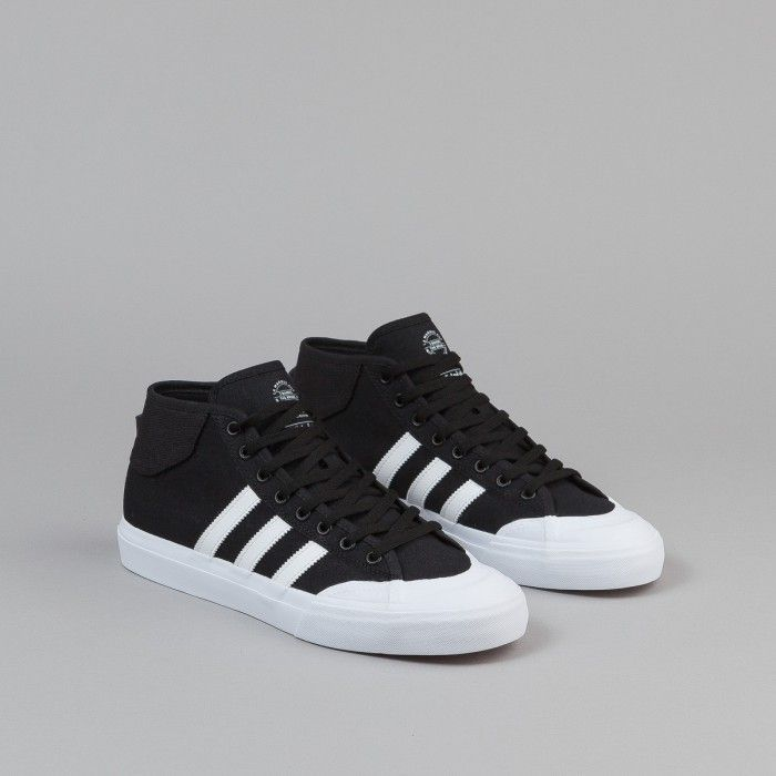 best sneakers 9474d 1f5ac Adidas Matchcourt Mid Shoes - Core Black  FTW White  FTW White