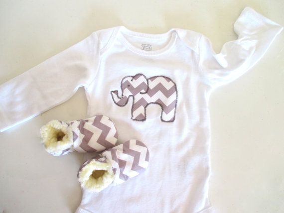 Grey chevron elephant baby gift set gift ideas for godchild grey chevron elephant baby gift set negle Image collections