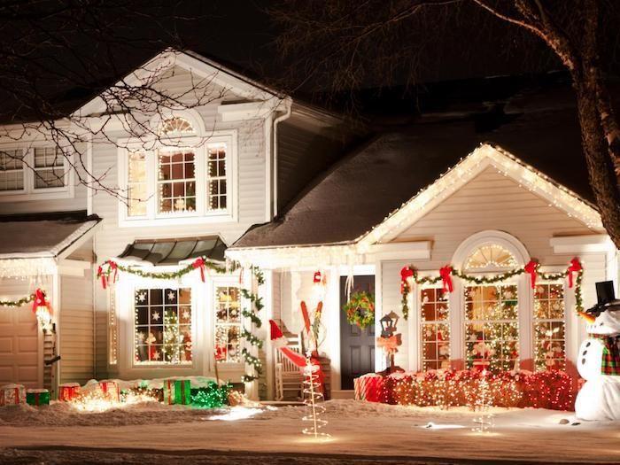 Wohnzimmerfenster dekorieren ~ Fenster beleuchtung haus design haus außen dekorieren deko ideen