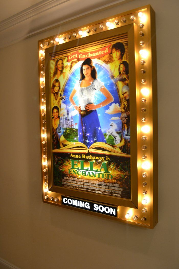 movie poster light up frames - not poster | For the Home ...
