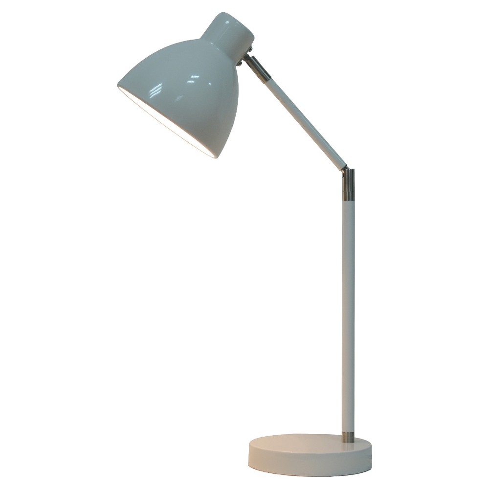 Desk Task Lamp with Touch On/Off White (Includes Led bulb) - Pillowfort