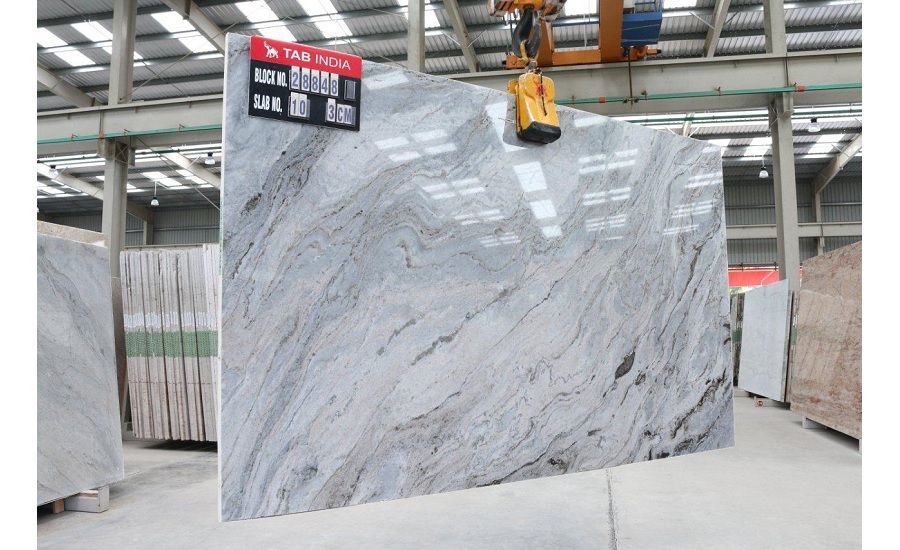 Blue Fantasy Semi Quartzite Hard Marble By Tab 2018 03 27 Stone World Quartzite Countertops Colors Quartzite Countertops Marble Slab