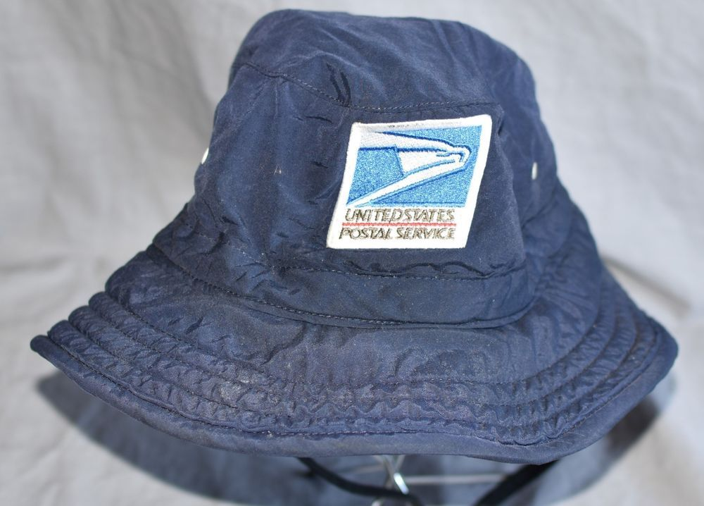 Postal Service Post Office Bucket Boonie Wide Brim Sun Hat Cap Navy M   fashion  clothing  shoes  accessories  unisexclothingshoesaccs   unisexaccessories ... c6ed5dde10d