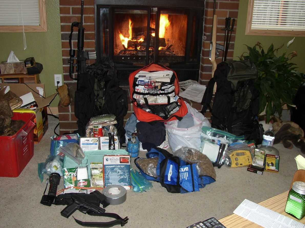 Daniels Family Bug Out Bag Photo