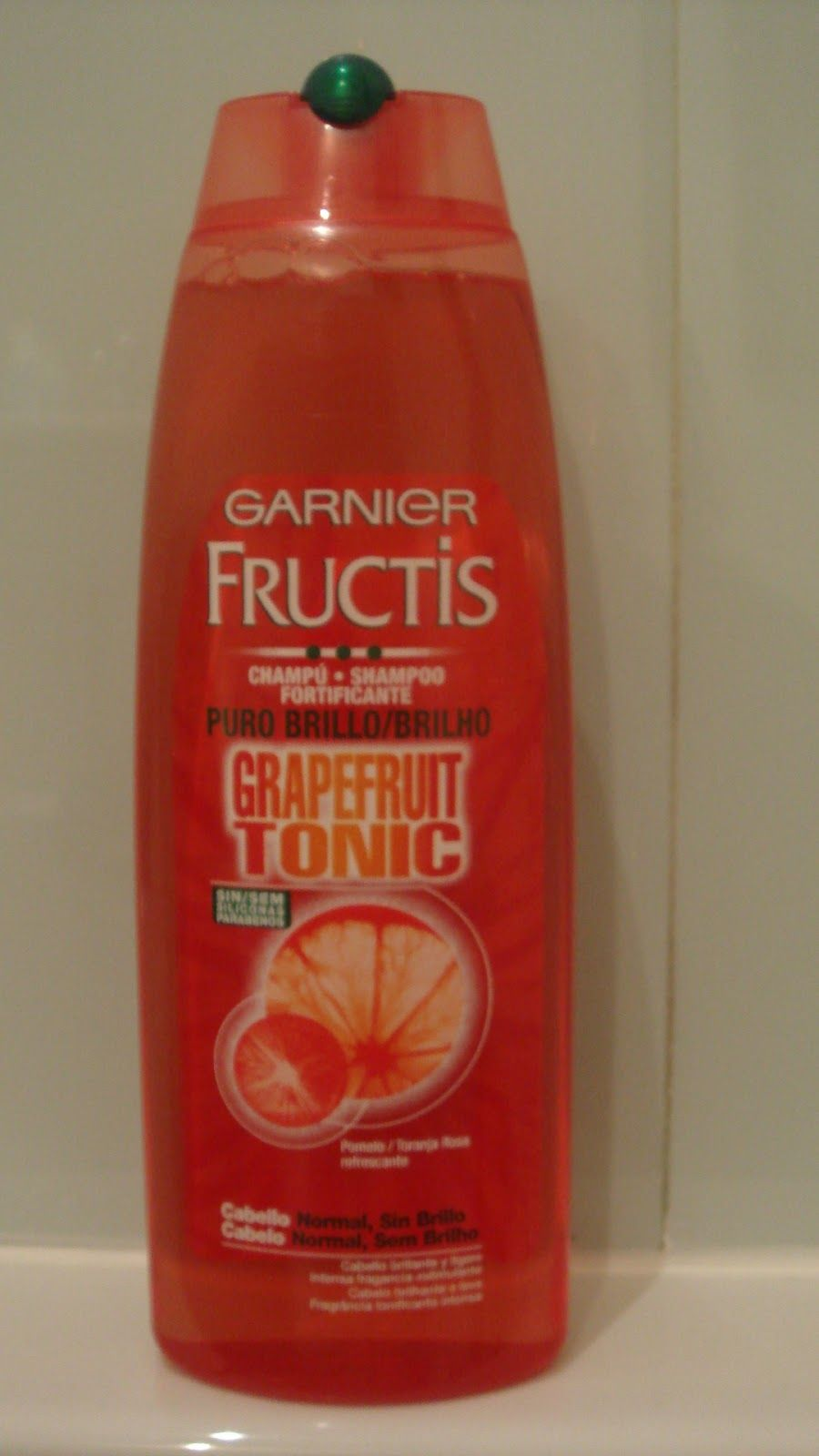 garnier fructis grapefruit tonic shampoo good inci hair pinterest shampoos. Black Bedroom Furniture Sets. Home Design Ideas