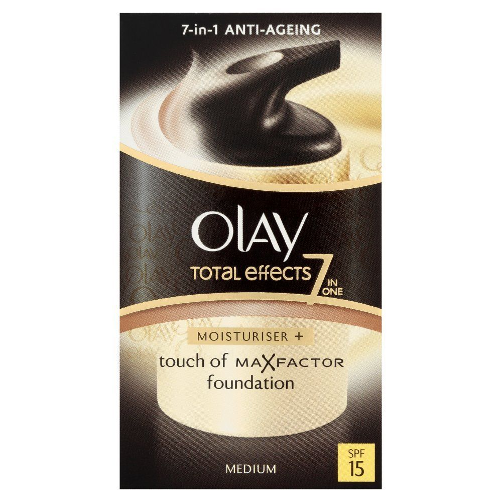 Olay Total Effects Touch Of Foundation Medium Ausreise Info 7 In One Day Cream Spf 15 50gr 37ml This Is