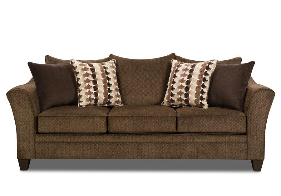 Jada Brown Queen Sleeper Sofa Badcock Home Furniture & More of