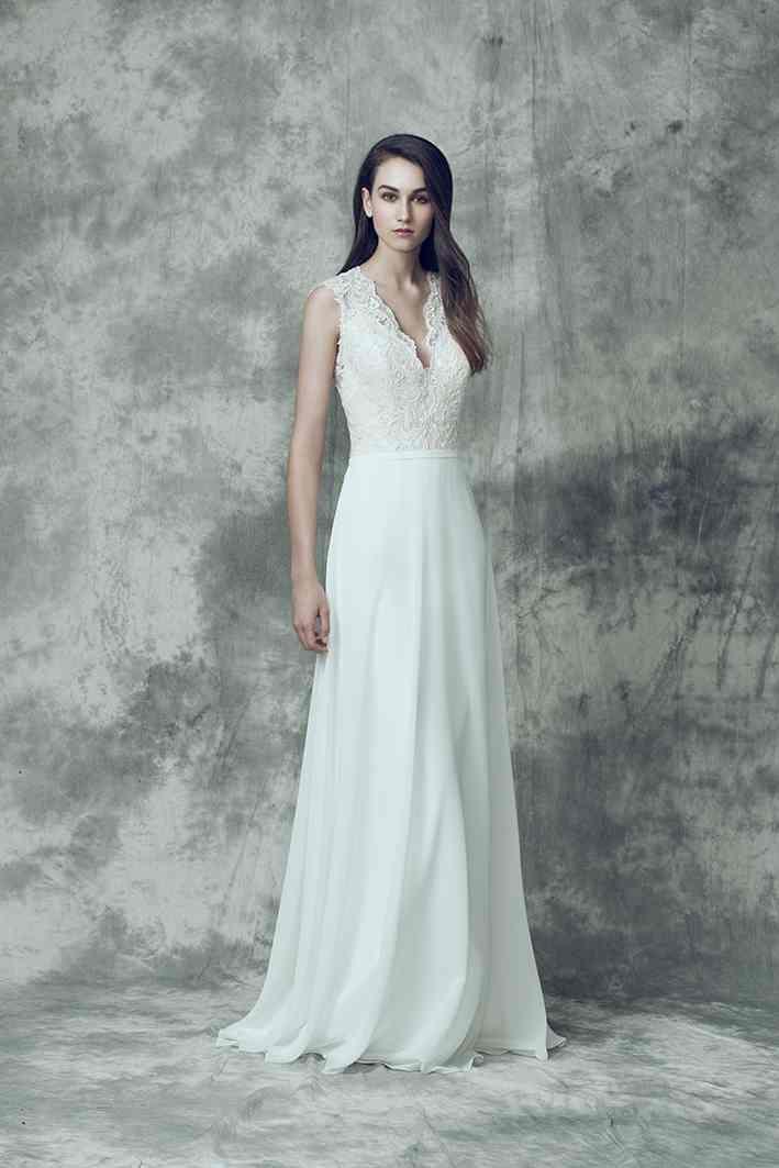 Vestidos de novia sencillos: los 100 modelos más bonitos  – Boda