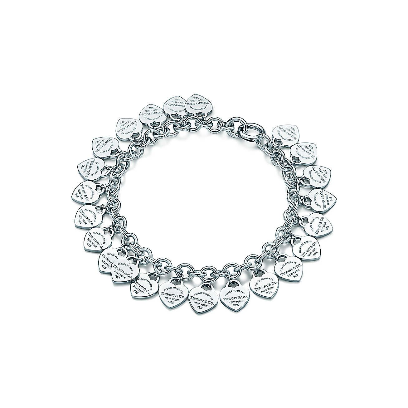 Return to tiffany multiuheart tag bracelet tiffany bracelets and