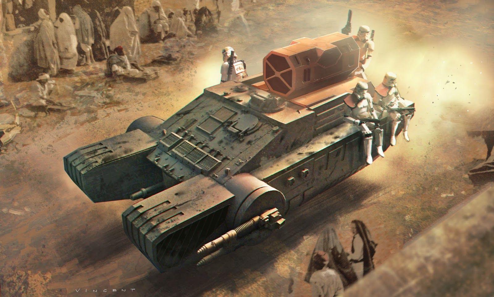 "ARTE CONCEPTUAL DE ""ROGUE ONE: UNA HISTORIA DE STAR WARS"""