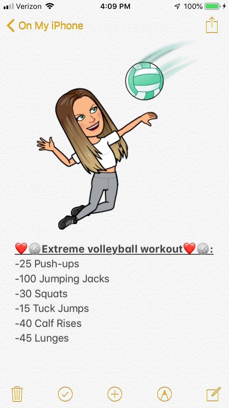 Volleyball Workouts Volleyball Workouts Em 2020 Exercicios De Voleibol Voleibol Handebol
