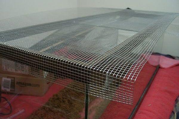 How To Make A Reptile Terrarium Lid Terr Vivarium Reptile