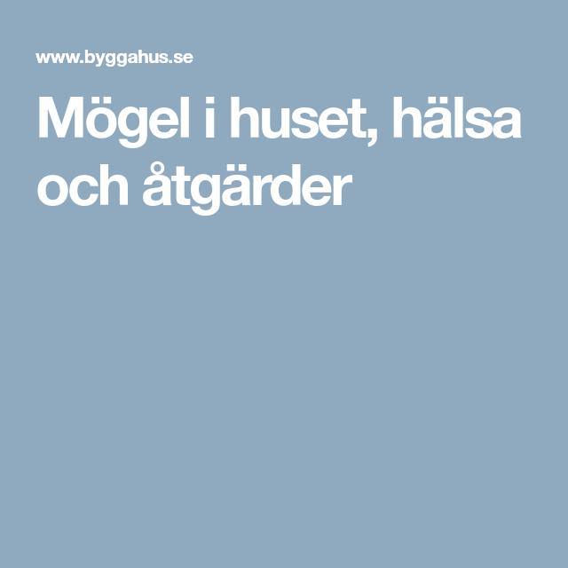 Mögel i badrumsväggen? | Byggahus.se
