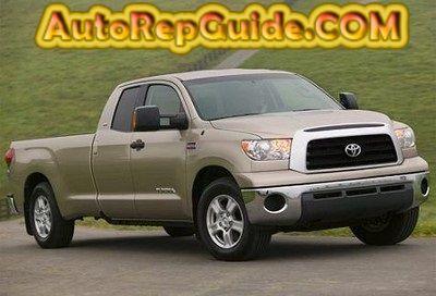 Download free Toyota Tundra (20012006) repair manual