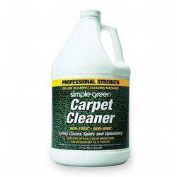 http://procarpetsupply.com/simple-greenr-nontoxic-carpet-cleaner-1-gallon/ SPG15128  Features: -Carpet Cleaner.-Deodorizes.-Nonionic/Biodegradable.-1 Gallon.