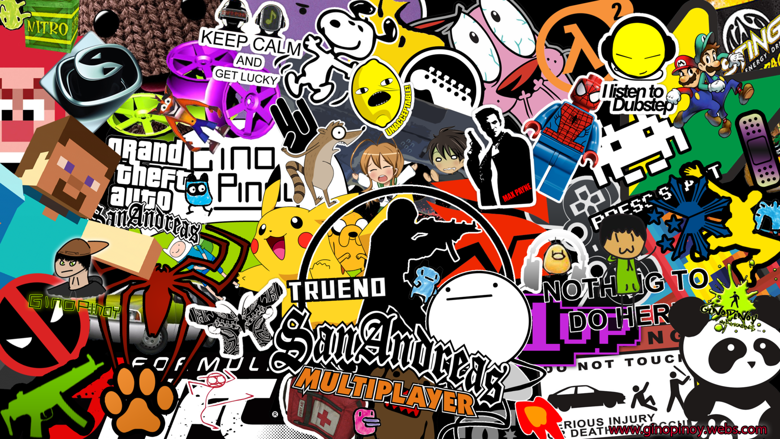 Sticker bomb wallpaper images amp pictures becuo html code wwe stickerbomb sub thai deviantart