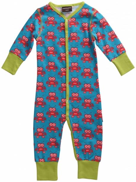 Maxomorra Robot Sleepsuit available at Trendy Tots Boutique ...