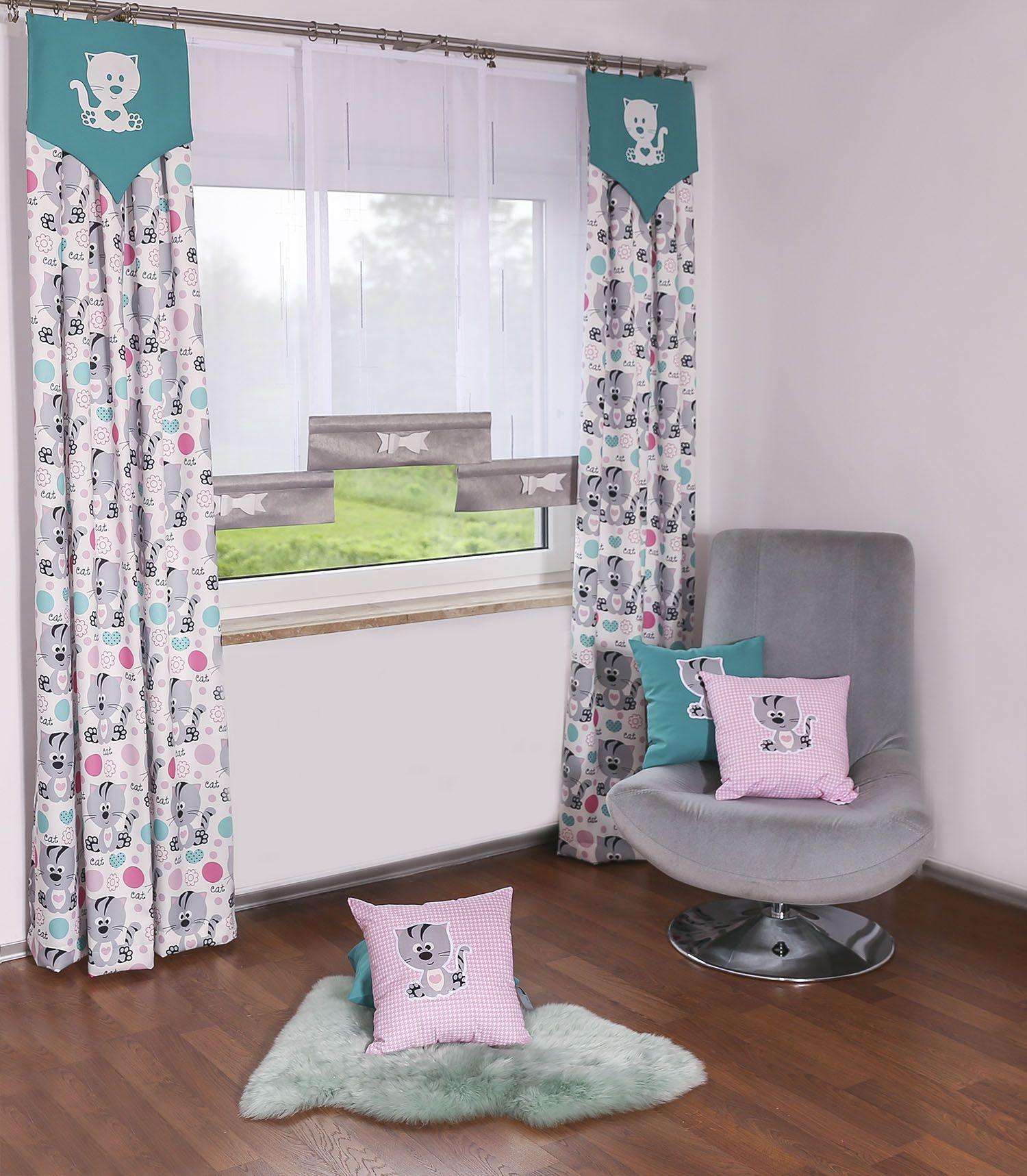 Firany W Pokoju Dziecka Home Decor Decor Curtains