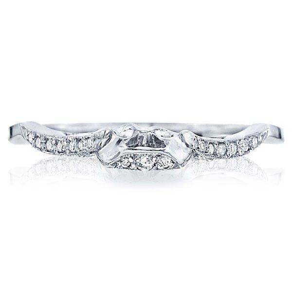 Tacori Milgrain Vintage Wedding Band Ht2257d Fancy Rings Diamond Wedding Bands Tacori Diamond
