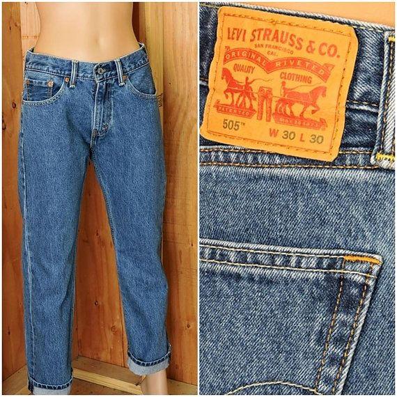 d54f6fbef92 Levis 550 30 X 30 / vintage 90s levi jeans / levis high waisted straight  leg jeans / levi 550 jeans mens / womens