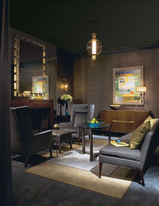with matching ceiling | Dark painted rooms | Pinterest | Dark ...