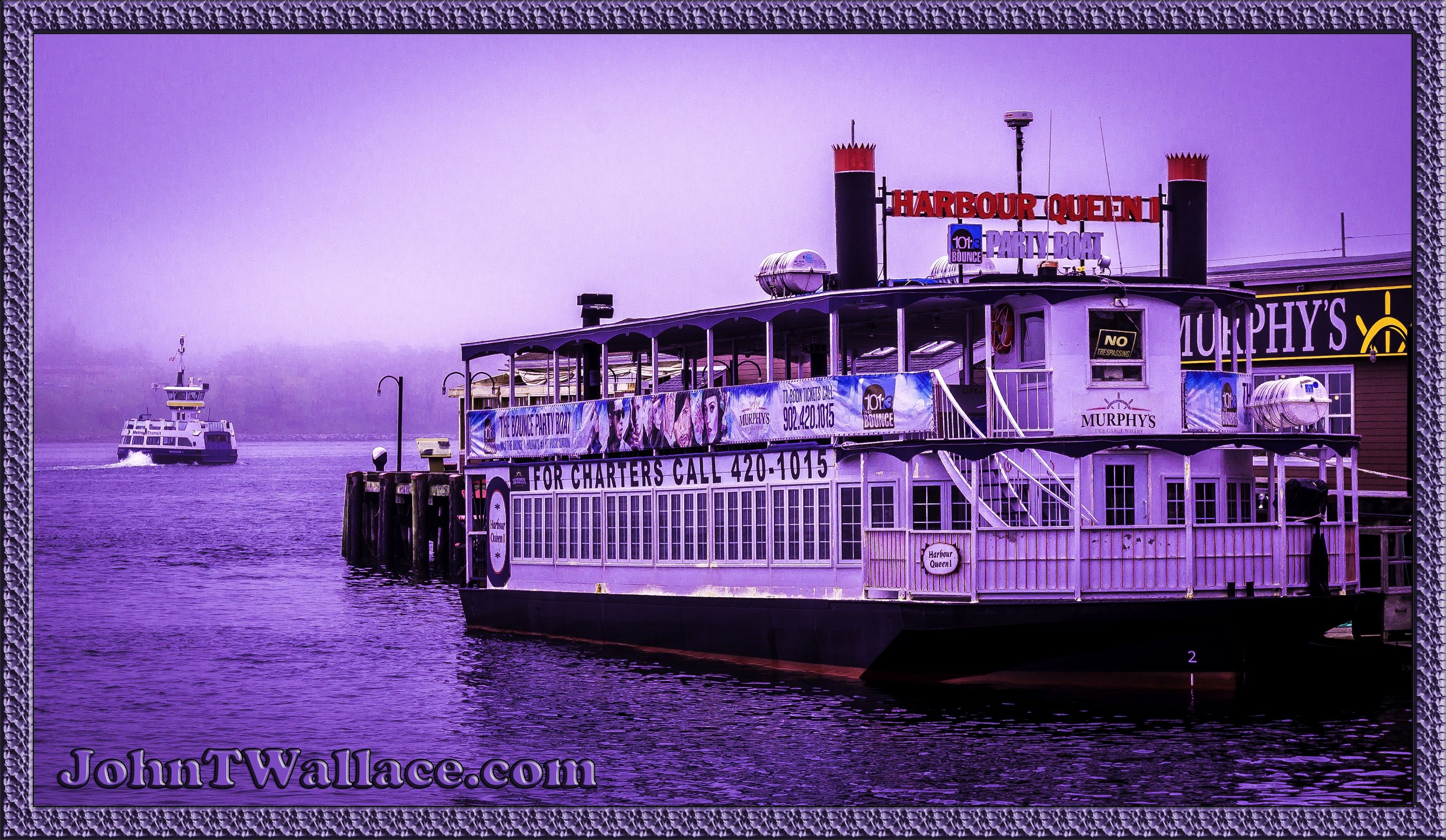 4 June 2014 Harbour Queen I Experience Halifax at night
