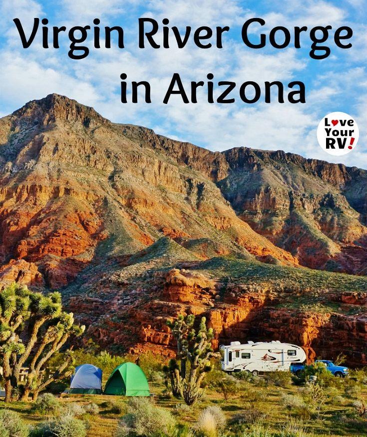 Super Scenic Camping in the Virgin River Gorge | Utah ...