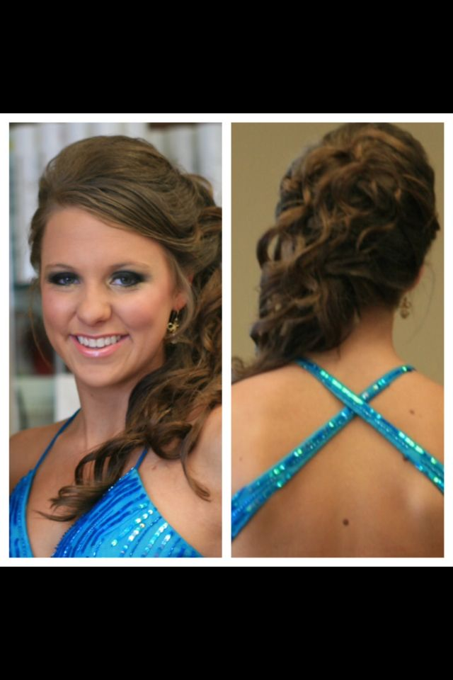 Elegant Prom Hair Updo With Front And Back Views A Good Hair Day