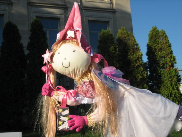 A Fairy Princess Scarecrow that was exhibited at Hendricks