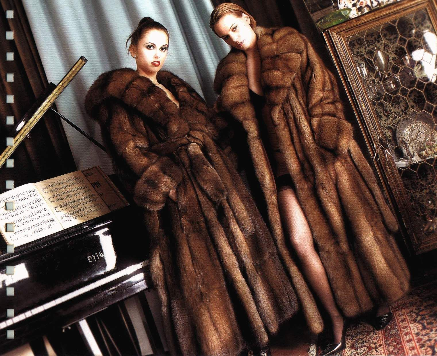 expensive full length sable fur coats | Furs &amp Softwear 9