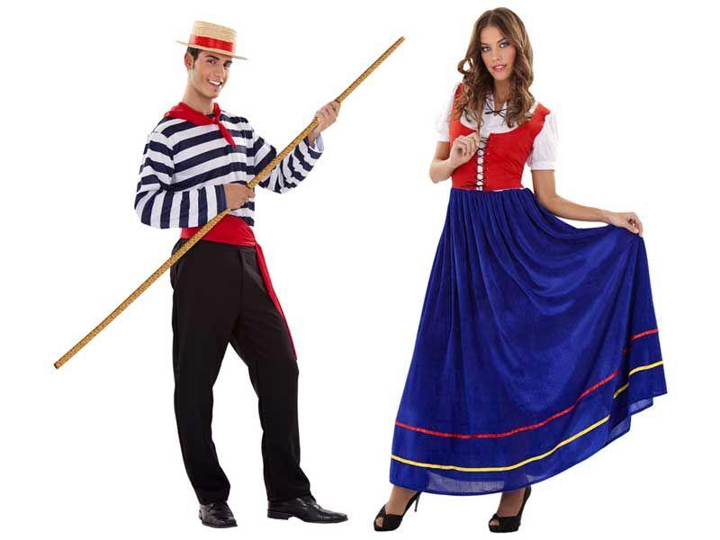 Pareja venecianos adulto for Disfraces parejas adultos