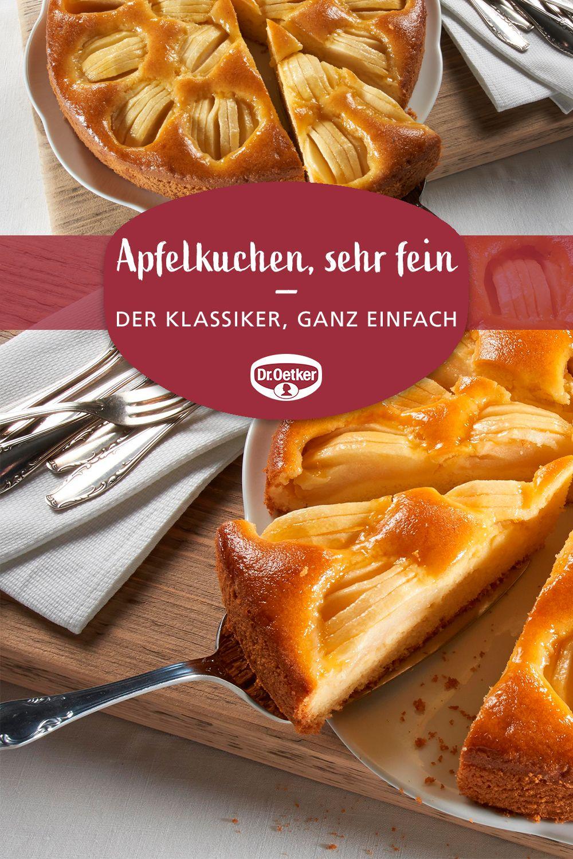 Apfelkuchen Sehr Fein Rezept Apfelkuchen Sehr Fein Apfelkuchen Rezept Kuchen