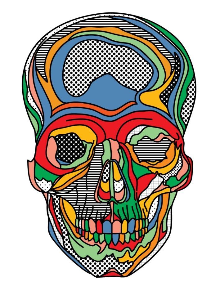 Skull by ~shirabentley on deviantART