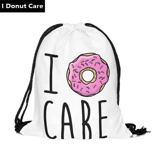 New fashion Women Emoji Backpack 3D printing travel softback women ...