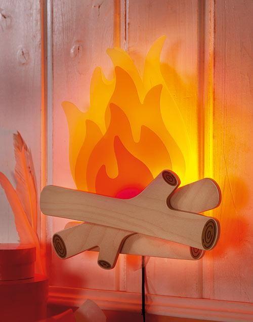 haba schlummerlicht lagerfeuer f r cowboys und indianer pinterest lagerfeuer kinderzimmer. Black Bedroom Furniture Sets. Home Design Ideas