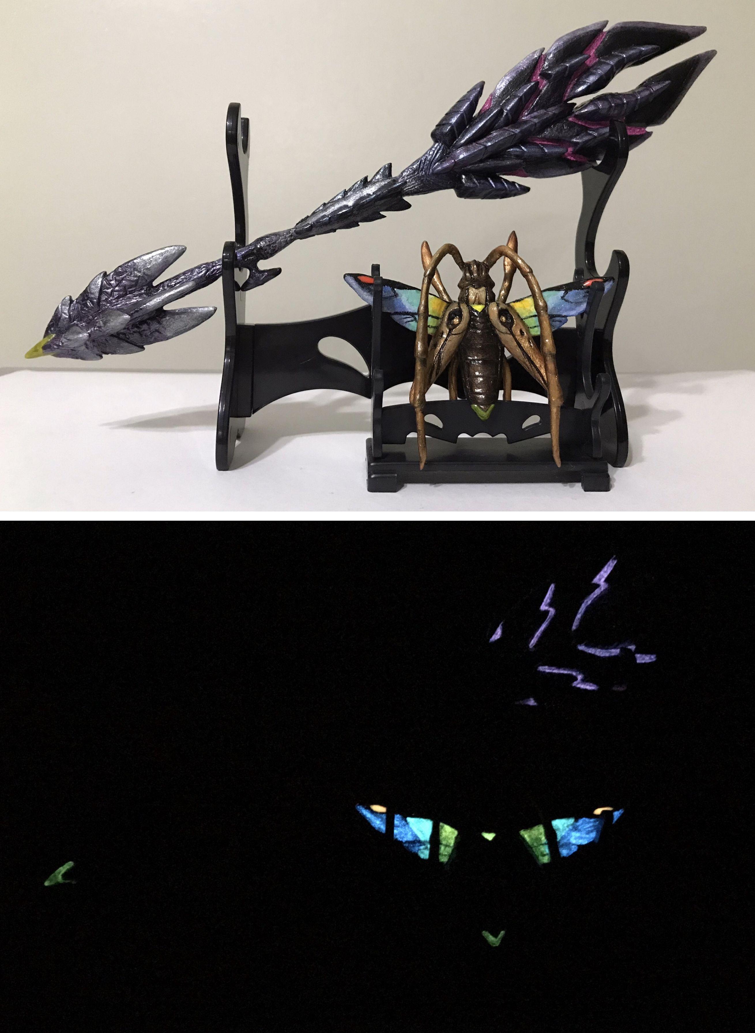 Alatreon Godslayer Alatreon Insect Glaive Monster Hunter World
