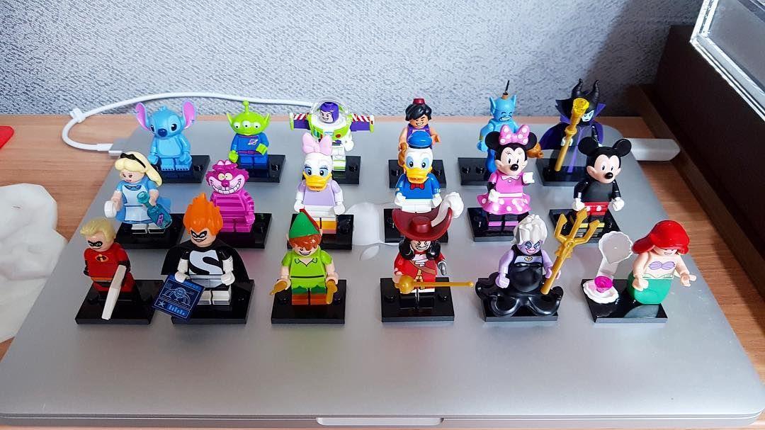 #레고 #디즈니 #미니피규어.  #레고 스럽지는 않지만 #매우 귀엽다. #lego71012 #lego #71012 #레고미피 #디즈니미피 #키덜트 인가부다. #맥북 은 좋은 배경입니다. by whowhowhose