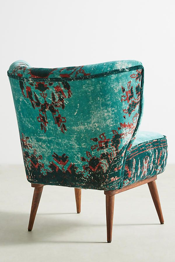Best Dhurrie Petite Accent Chair Anthropologie Furniture 400 x 300