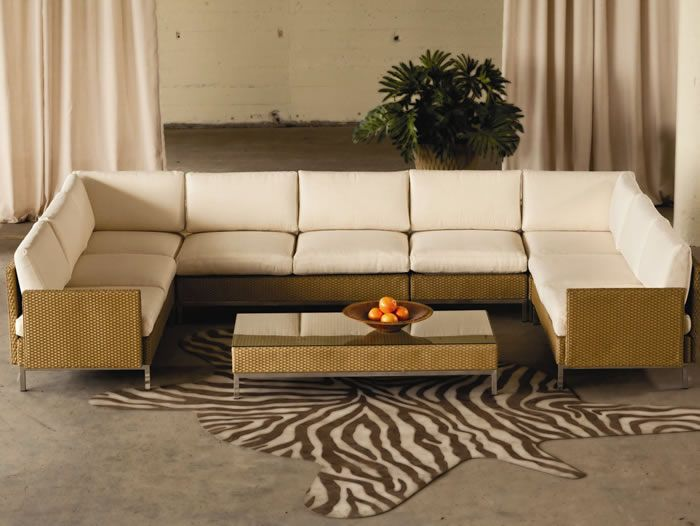 Build Your Own Sectional Couch Wicker Patio Furniture Modern