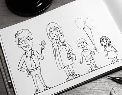Animation Character Design Portfolio : Portfolio