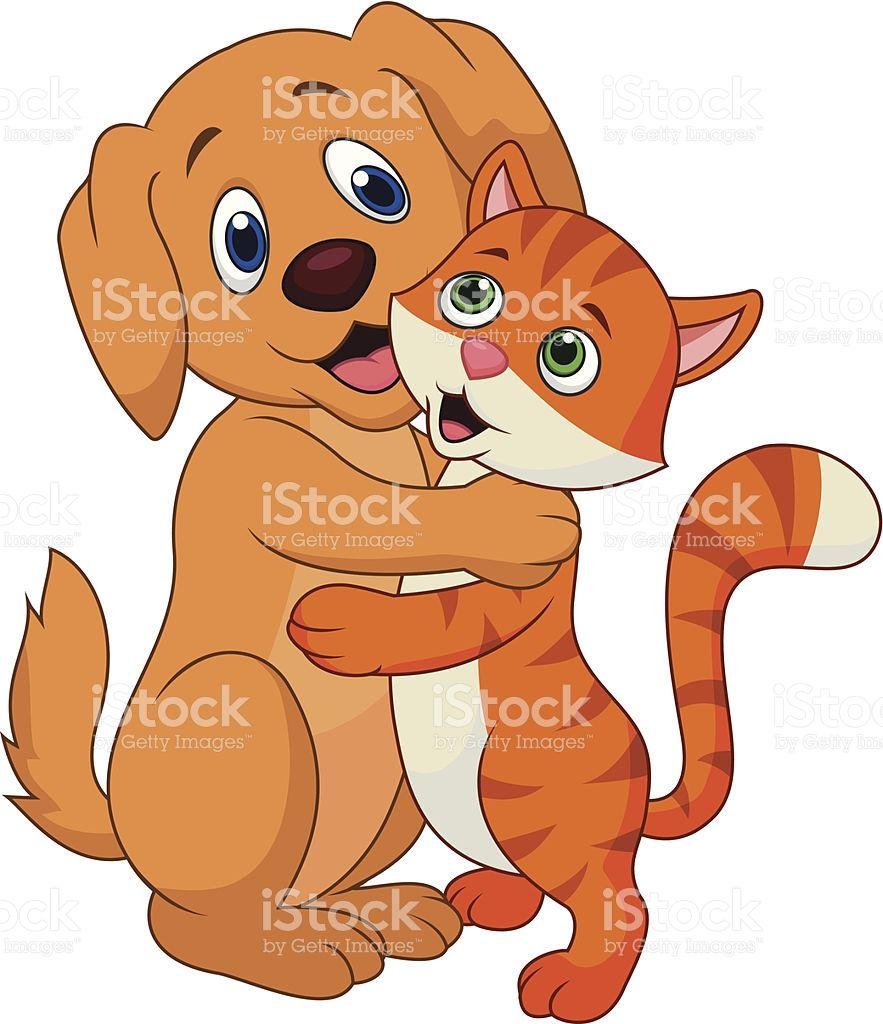 Картинки по запросу кошка и собака мультяшные (с ...