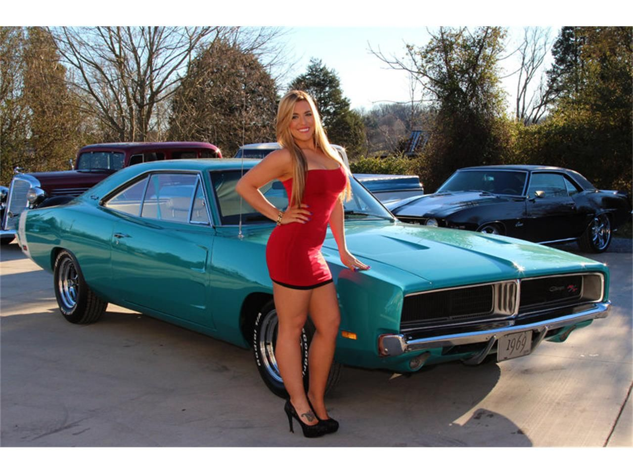 Rather Dodge charger hot girls