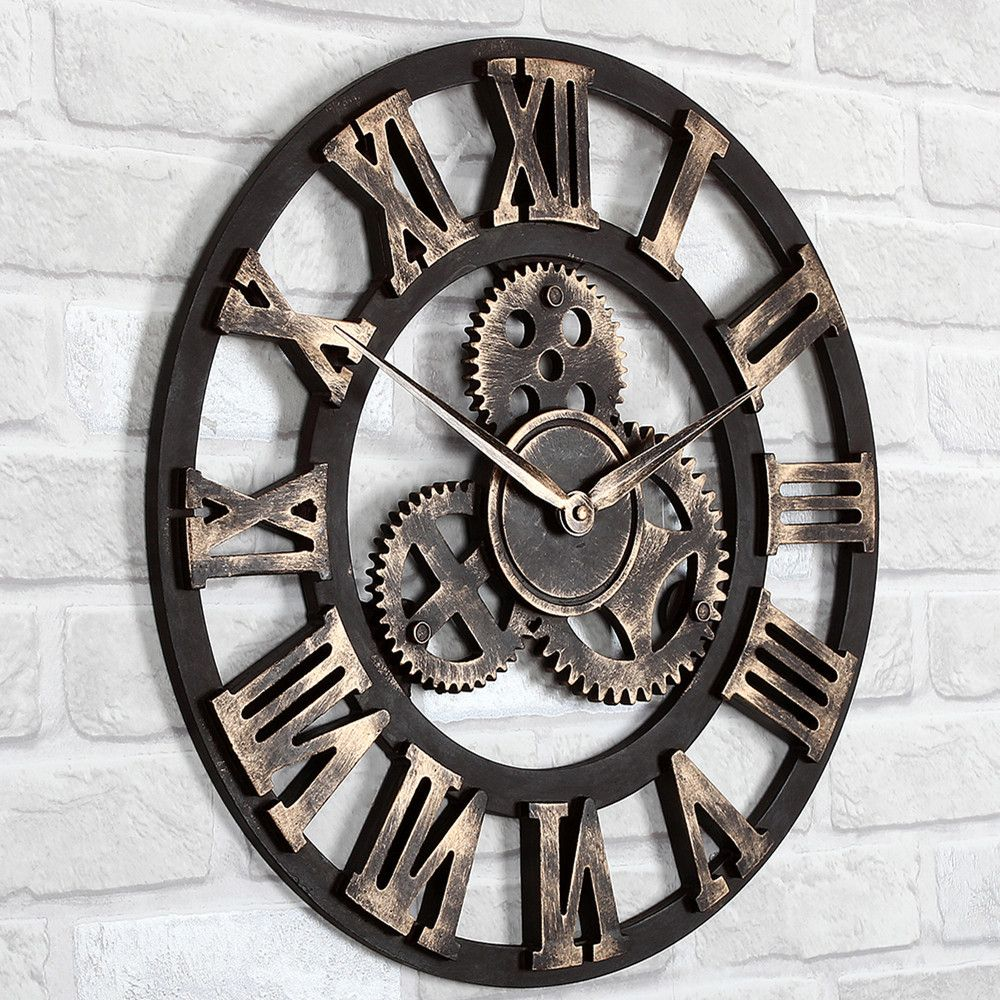 Extra large cream wall clock from next wall art pinterest giant wall clock amipublicfo Gallery
