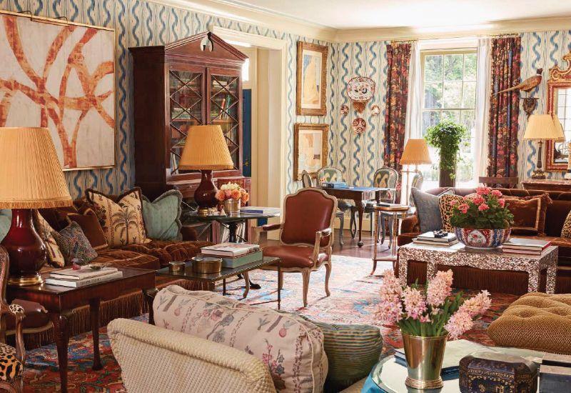 Danielle Featured In Veranda Home Collection Country House Interior English Decor House Design